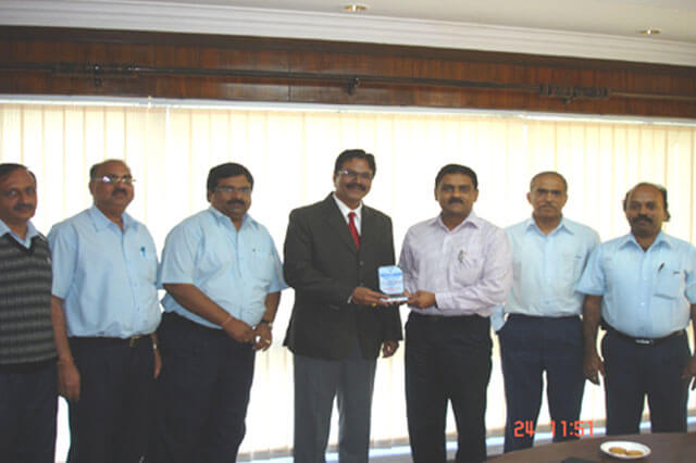 Awarded by Voltas Ltd. for the year 2010-11 for Continual Improvements